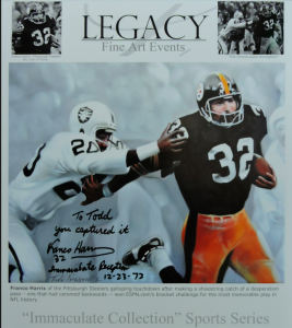 immaculate reception franco harris